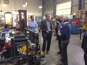 senator michael bennet visits ip automation